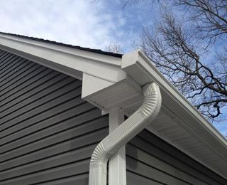 photo of seemless gutters